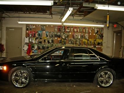 Cadillac Sts Santa Fe Auto Sound