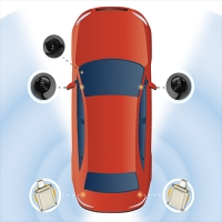 Audiovox Blind Spot Detection
