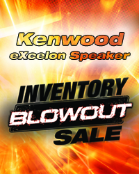 Kenwood Speaker Inventory Blowout