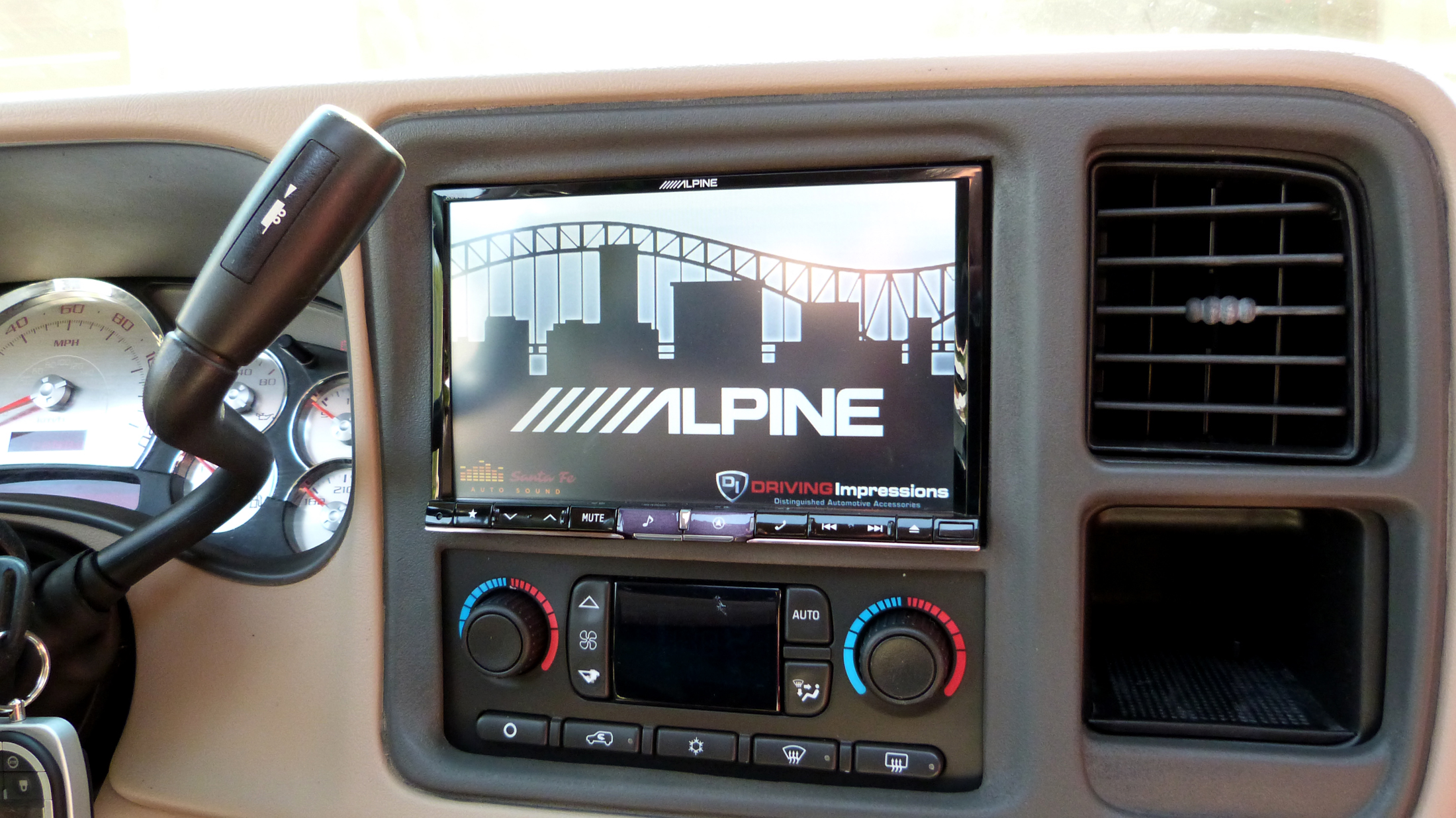 Year 2003 Chevrolet Tahoe Z71 Feature Image Alpine Ine 008u