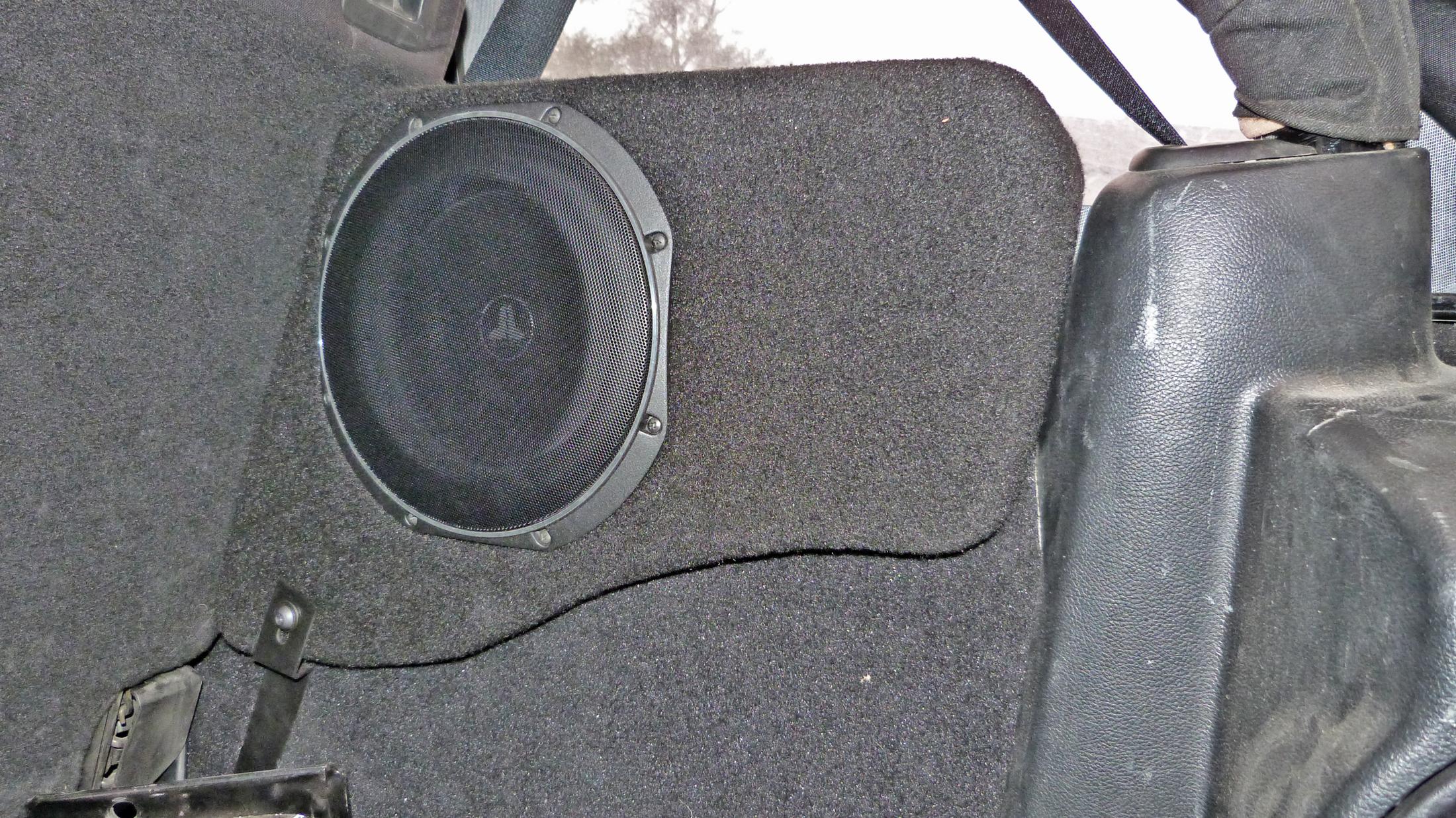 Jeep Wrangler Speakers