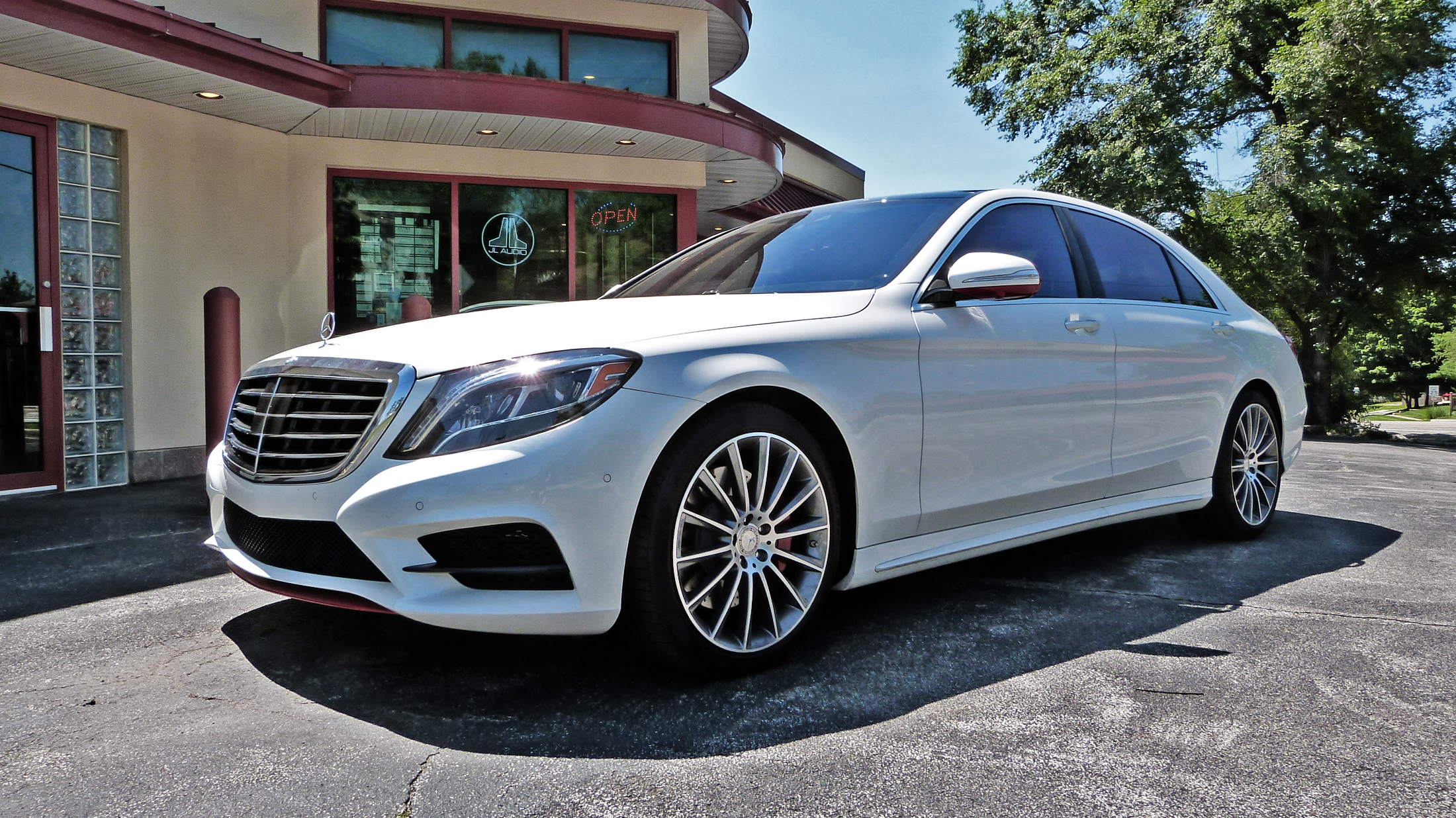 Mercedes S550 preview
