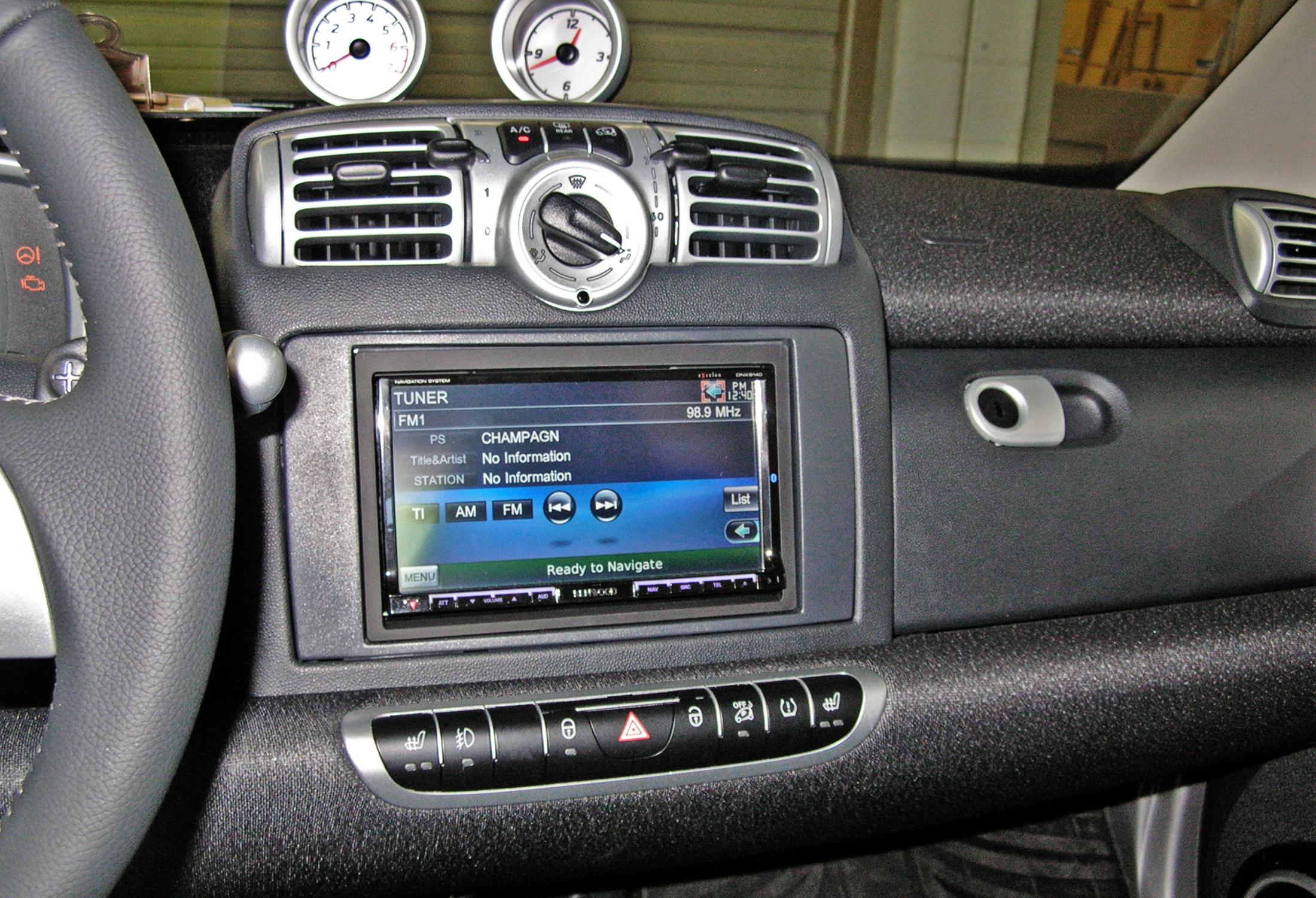 Smart Fortwo Santa Fe Auto Sound
