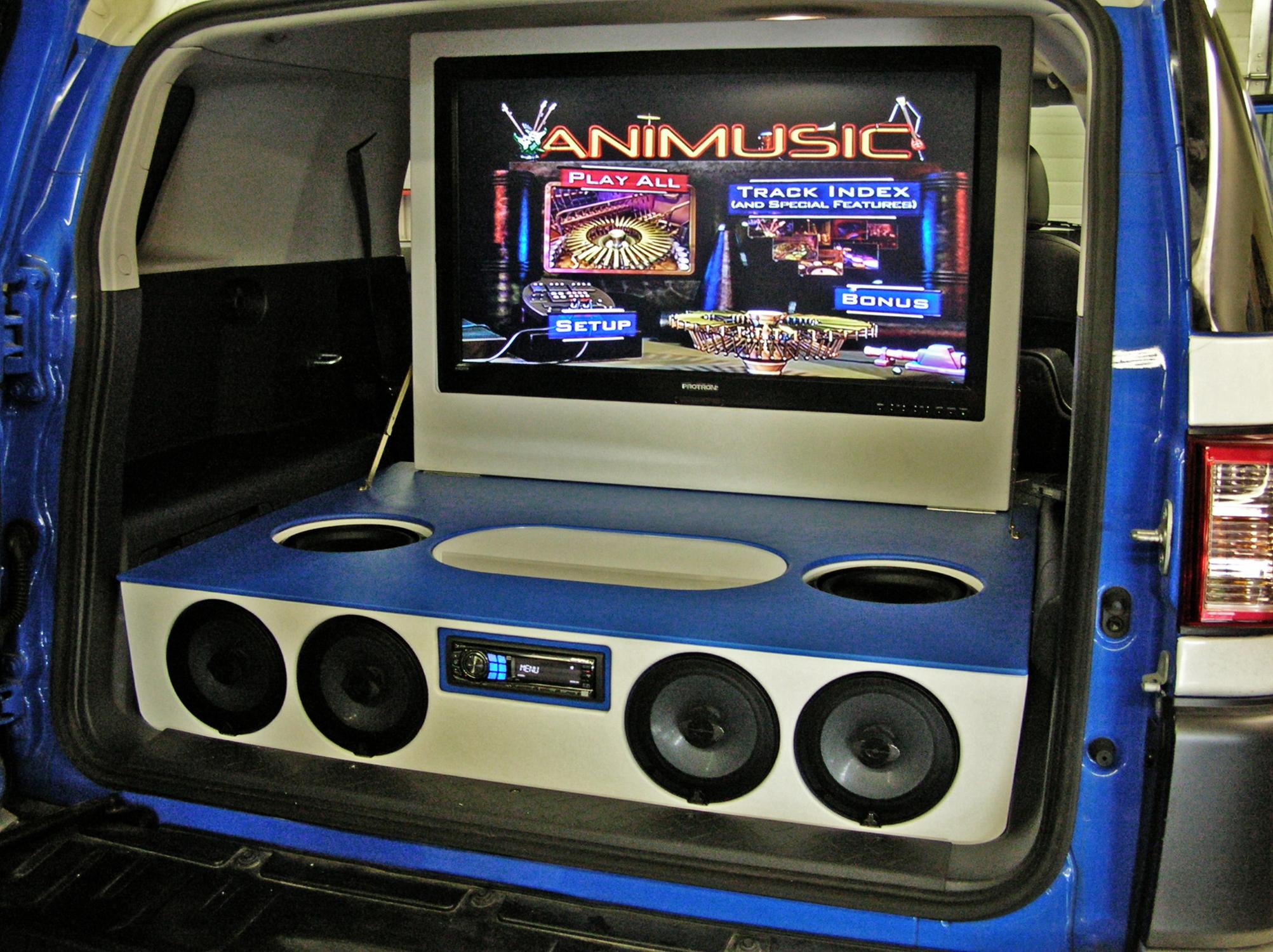 Toyota Fj Cruiser Santa Fe Auto Sound