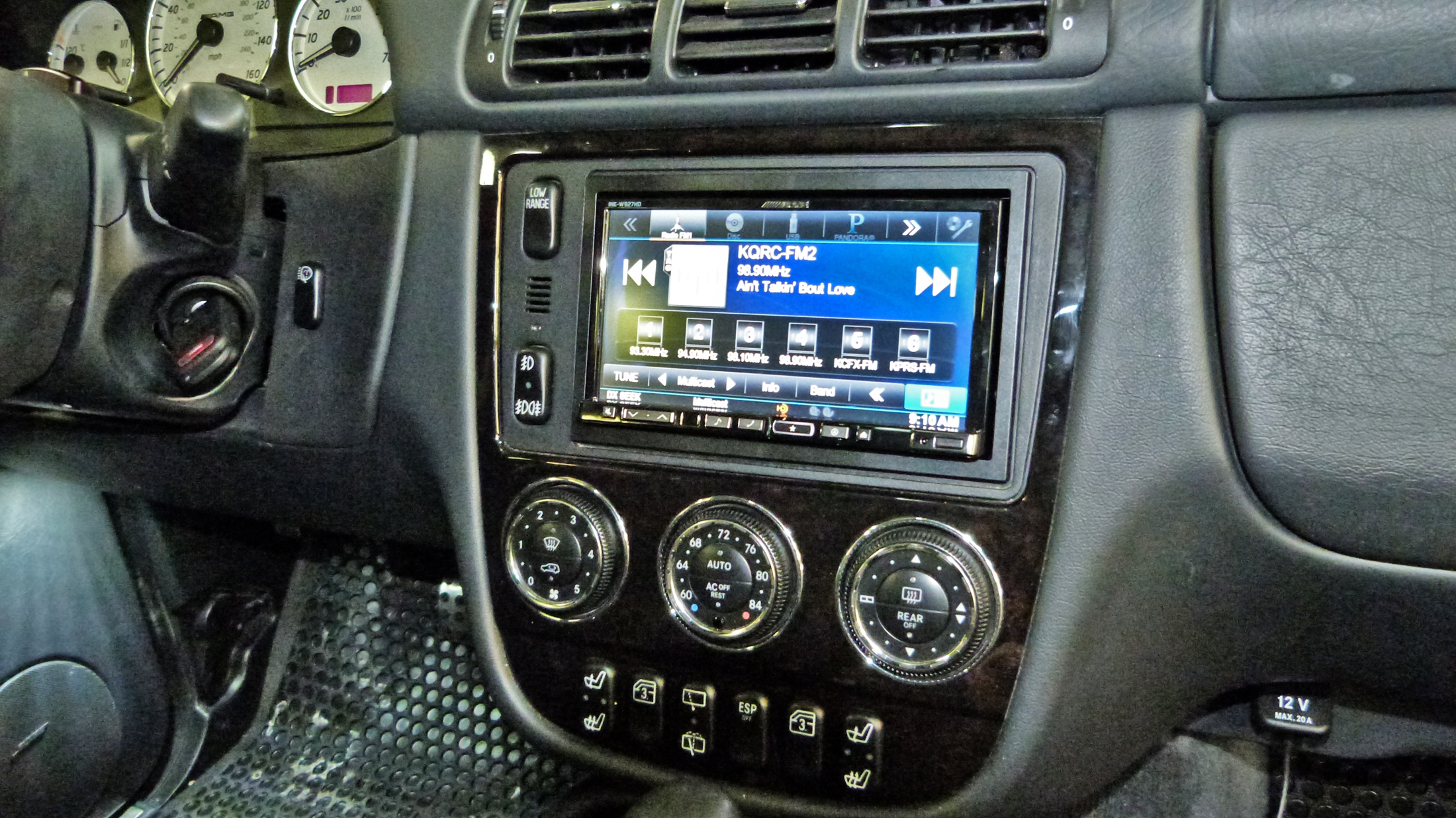 Mercedes ML55 AMG | Santa Fe Auto Sound
